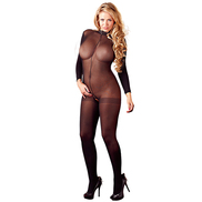 Mandy Mystery Plus Size Crotchless Bodystocking