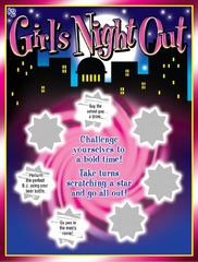 Girls Night Out Scratch Card