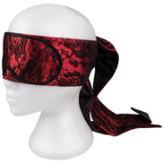 Raging Fire Luxury Tie Up Blindfold
