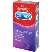 Durex Intimate Feel Condoms 12pk