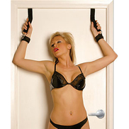 Door Jam Restraint Cuffs