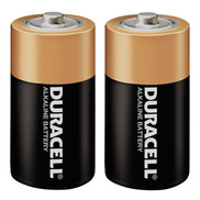 C Duracell Batteries Pack of 2