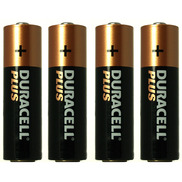 AA Duracell Plus Batteries Pack of 4