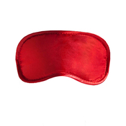 Soft Plush Blindfold Mask - Red
